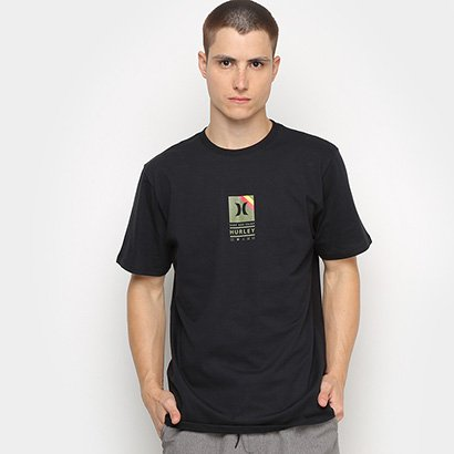 Camiseta Hurley Silk Vibex Masculina