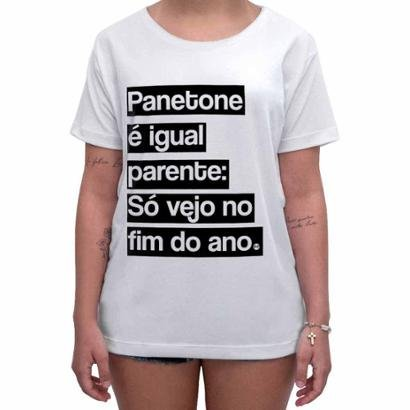 Camiseta Impermanence Estampada Panetone Feminina