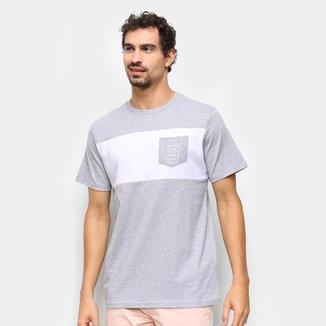 Camiseta Industrie Bicolor Manga Curta Masculina