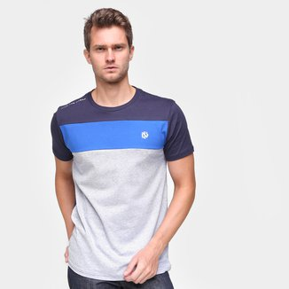 Camiseta Industrie Color Block Masculina