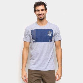 Camiseta Industrie Estampada Manga Curta Masculina
