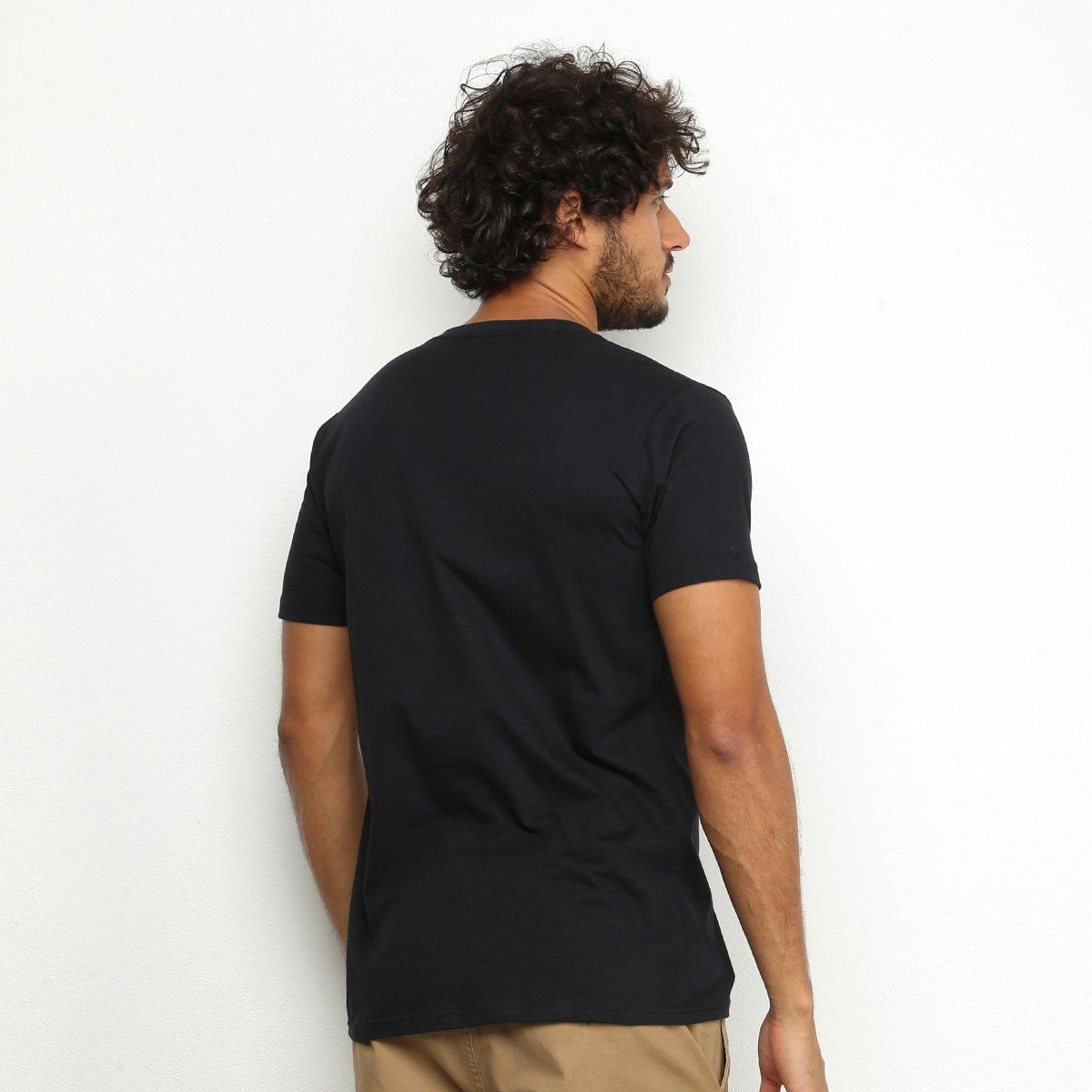 Camiseta Industrie Los Angeles Masculina - Preto