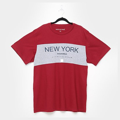 Camiseta Industrie New York Plus Size Masculina
