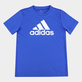 Camiseta Infantil Adidas D2M Big Logo Masculina