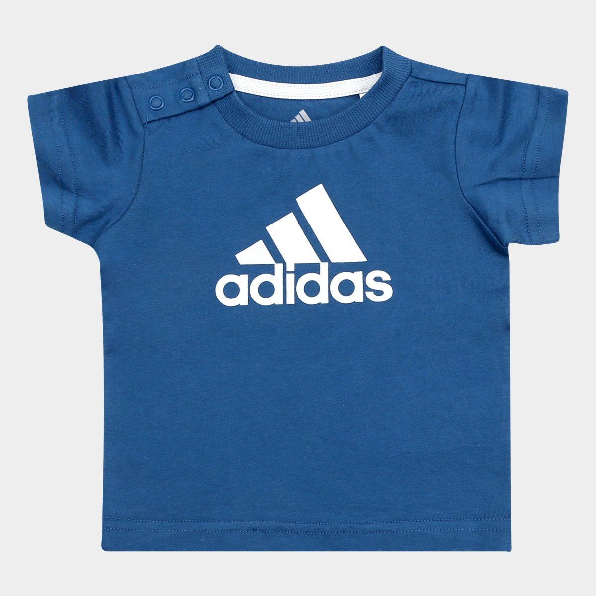 20b7e4c6001 Camiseta Infantil Adidas I Fav Tee Baby - Compre Agora