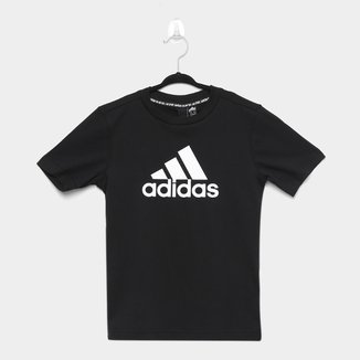 Camiseta Infantil Adidas Mh Bos Yb Masculina