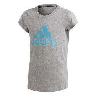 Camiseta Infantil Adidas Must Haves Bos Feminina