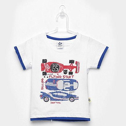 Camiseta Infantil Andritex Carros Masculina