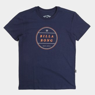 Camiseta Infantil Billabong Frotor Tn Masculina