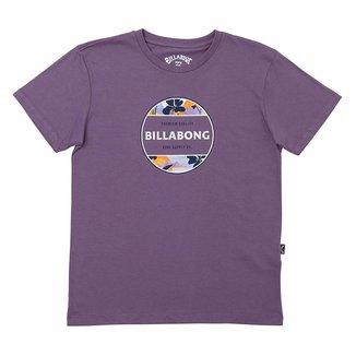 Camiseta Infantil Billabong Rotor I Tn Masculina