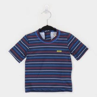 Camiseta Infantil Boca Grande Proteção UV 50+ Masculina