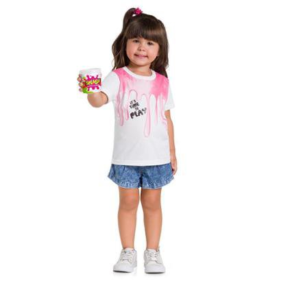 Camiseta Infantil Brandili Feminina