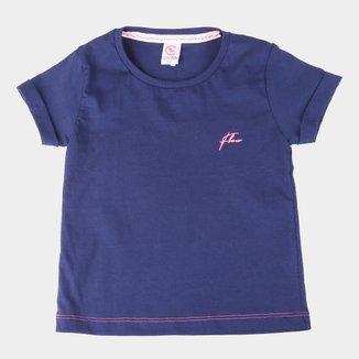 Camiseta Infantil Costão Básica Feminina