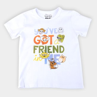 Camiseta Infantil Disney Got A Friend Toy Story Masculina
