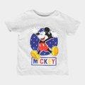 Camiseta Infantil Disney Mickey And Friends Happy Masculina