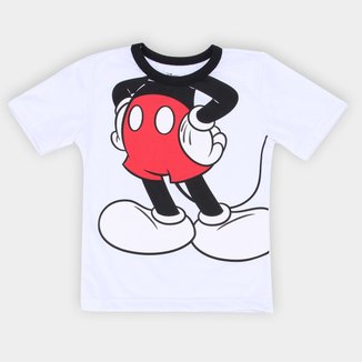 Camiseta Infantil Disney Mickey Body Masculina