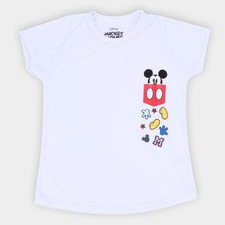 Camiseta Infantil Disney Mickey Pocket Masculina