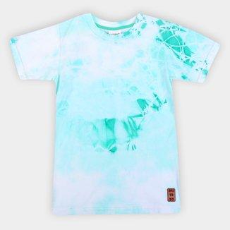 Camiseta Infantil Duzizo Tie Dye Masculina