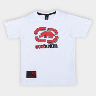 Camiseta Infantil Ecko Logo Masculina