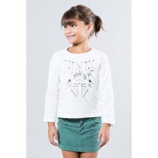 Camiseta Infantil Etnica Reserva Mini Feminina