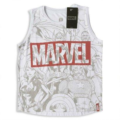 Camiseta Infantil Feminina Marvel Vingadores