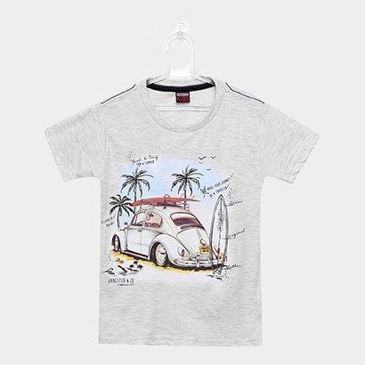 Camiseta Infantil Gangster Masculina