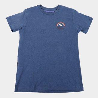 Camiseta Infantil Hang Loose Silk Rainbow Masculina