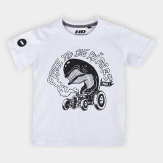 Camiseta Infantil HD Raflan Riders Masculina