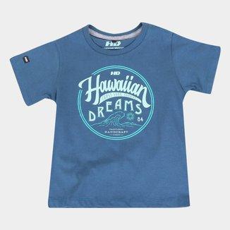 Camiseta Infantil HD Vintage Masculina