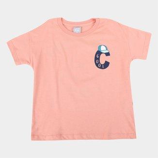Camiseta Infantil Hering Cool Masculina