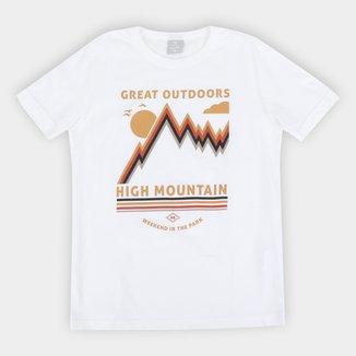 Camiseta Infantil Hering High Mountain Masculina