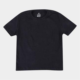 Camiseta Infantil Hering Kids Básica Feminina