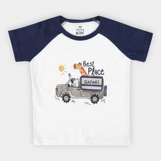 Camiseta Infantil Hering Kids Best Place Masculina