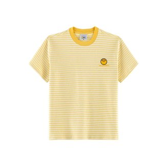 Camiseta Infantil Hering Listrada Estampa Smileyworld®!
