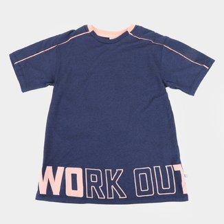 Camiseta Infantil Hering Work Out Masculina