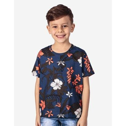 Camiseta Infantil Hermoso Compadre Tropical Masculina