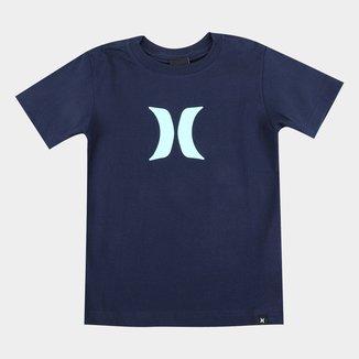 Camiseta Infantil Hurley Icon Masculina