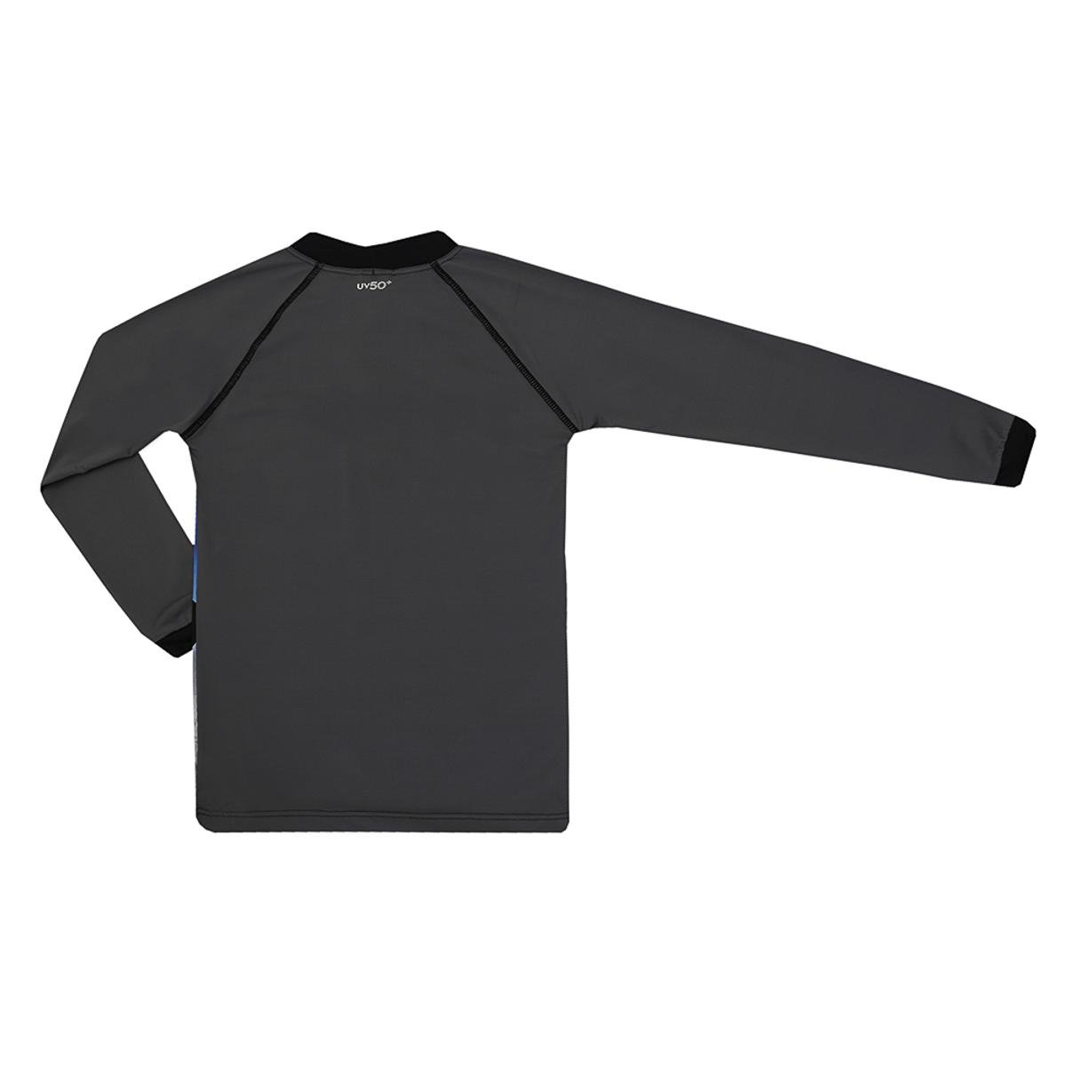 Camiseta Infantil Kids Lucca Estampa Skate Siri Masculina - Cinza ... 42478ff136e