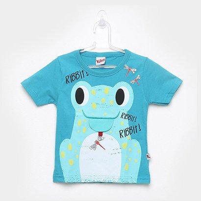 Camiseta Infantil Kiko & Kika Estampada
