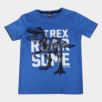 Camiseta Infantil Kiko & Kika T-Rex Masculina