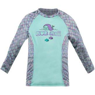 Camiseta Infantil Manga Longa Baby  Dry Smart 1A Uv