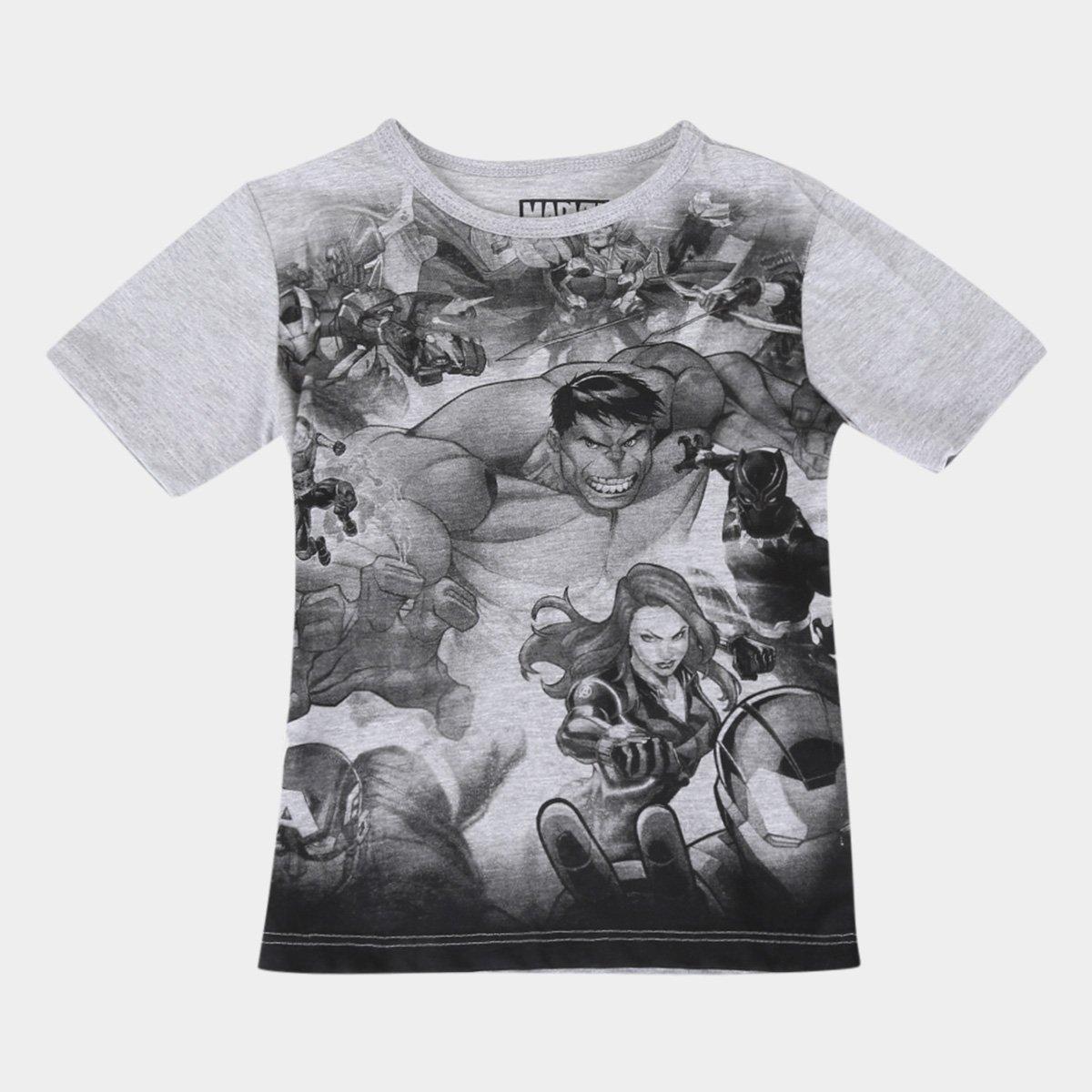 Camiseta Infantil Marvel Avengers