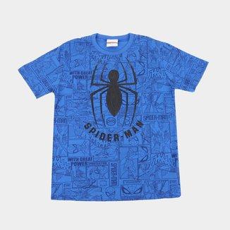 Camiseta Infantil Marvel Spider-Man Masculina