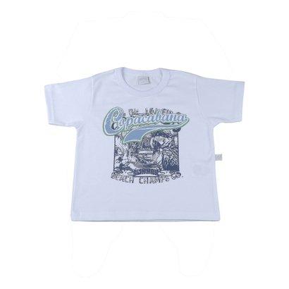 Camiseta Infantil Meia Malha Copacabana
