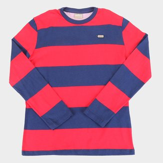 Camiseta Infantil Milon Básica Listrada Masculina