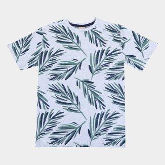 Camiseta Infantil Milon Folhagens Manga Curta Masculina
