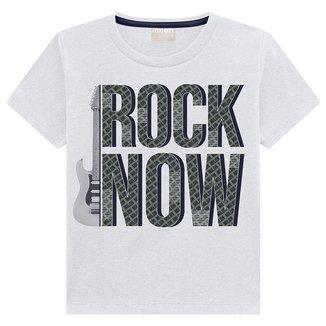 Camiseta Infantil Milon Rock Now Masculina