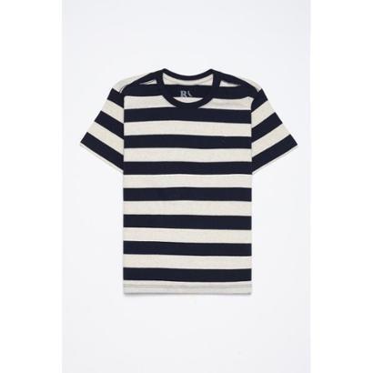 Camiseta Infantil Mini Pf Mc Linho Navy Reserva Mini Masculina