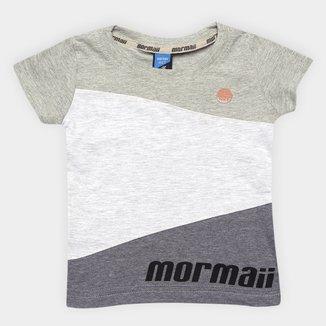 Camiseta Infantil Mormaii Color Recortes Masculino