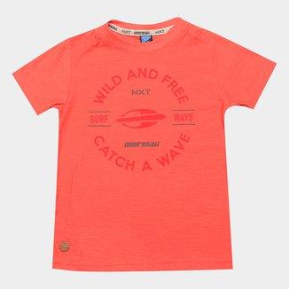 Camiseta Infantil Mormaii Estampada Masculina